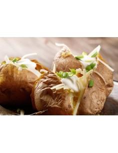 Patata completa con kebab