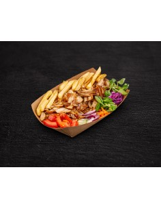 Plato de Kebab