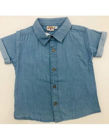 Camisa tejana niño de 6 meses a 36 meses