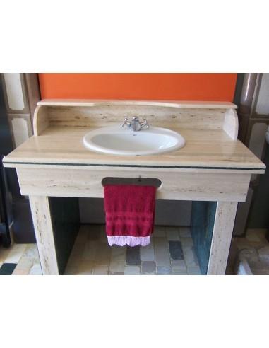 Mueble baño Travertino Tomano
