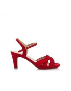 Sandalia de mujer, afelpado...