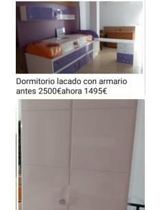 DORMITORIO LACADO CON...