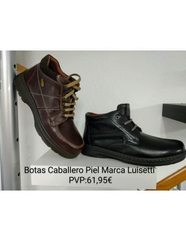Botas Caballero Piel Marca Luisetti