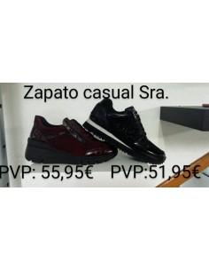 Zapato Casual Señora Negro