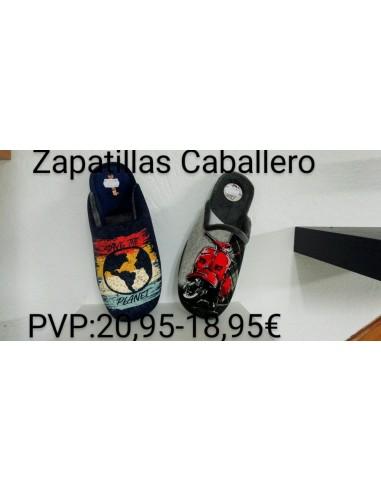 """Zapatilla hogar caballero """"Save the..."""