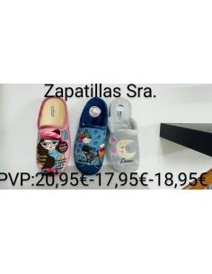 Zapatillas hogar señora
