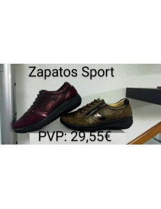 Zapatos Sport Rojo