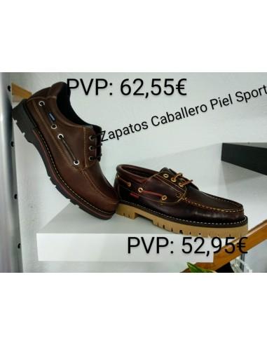 Zapato caballero piel sport
